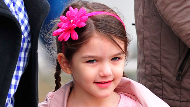 Suri Cruise celebrates fifth birthday with lavish tea party